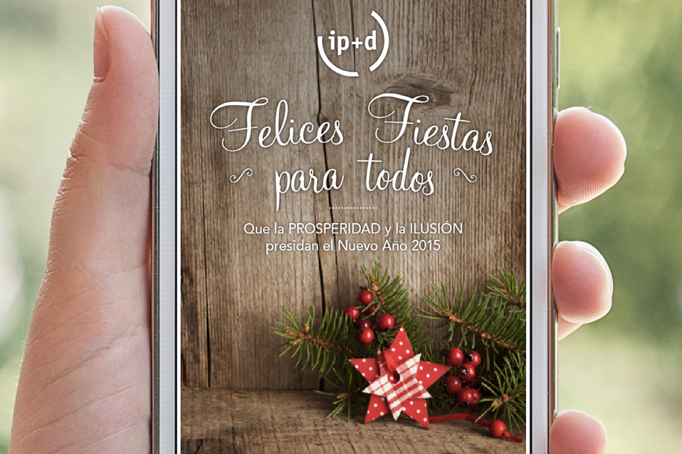 Christmas virtual para ip+d navidades 2014