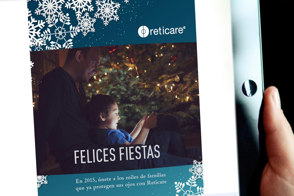 Christmas virtual para reticare navidades 2014